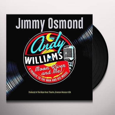 Jimmy Osmond MOON RIVER & ME: A TRIBUTE TO ANDY WILLIAMS Vinyl Record - UK Import
