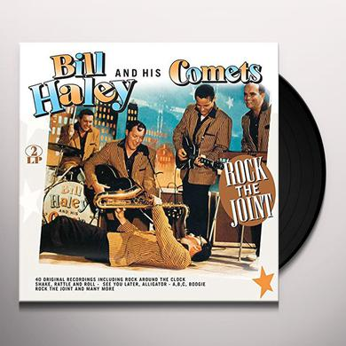 Bill Haley & His Comets ROCK THE HOUSE! Vinyl Record