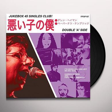 Darren Hayman & Papernut Cambridge I'VE BEEN A BAD BAD BOY Vinyl Record - UK Import