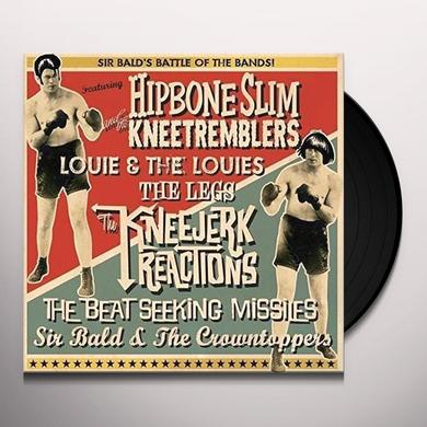 HIPBONE SLIM / SIR BALD DIDDLEY BATTLE OF THE BANDS Vinyl Record