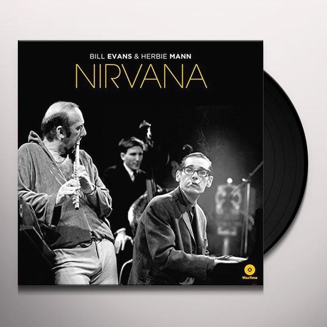Bill Evans / Herbie Mann NIRVANA Vinyl Record - Spain Import