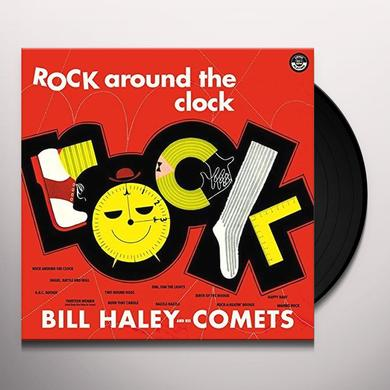 Bill Haley & His Comets ROCK AROUND THE CLOCK + 2 BONUS TRACKS Vinyl Record