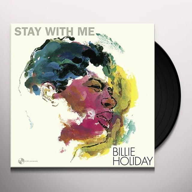 Billie Holiday STAY WITH ME (BONUS TRACK) Vinyl Record - Spain Import