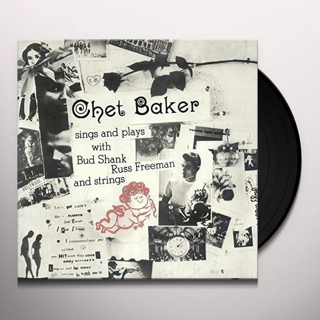 Chet Baker SINGS & PLAYS (BONUS TRACK) Vinyl Record - Spain Import