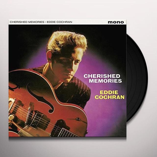 Eddie Cochran CHERISHED MEMORIES + 4 BONUS TRACKS (BONUS TRACKS) Vinyl Record
