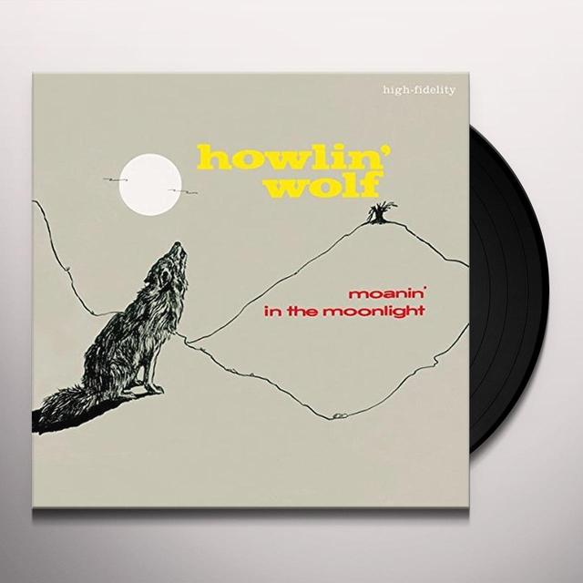 Howlin Wolf MOANIN IN THE MOONLIGHT + 4 BONUS TRACKS Vinyl Record - Spain Import