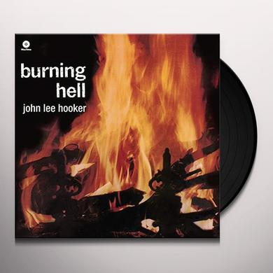 John Lee Hooker BURNING HELL + 4 BONUS TRACKS Vinyl Record