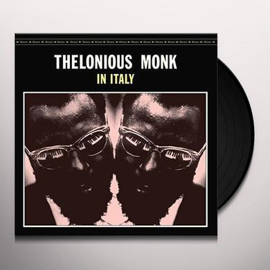 Thelonious Monk IN ITALY Vinyl Record - Spain Import