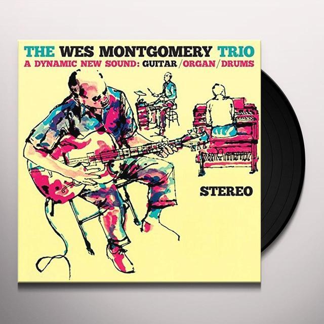 Wes Trio Montgomery DYNAMIC NEW SOUND + 2 (BONUS TRACKS) Vinyl Record - Spain Import