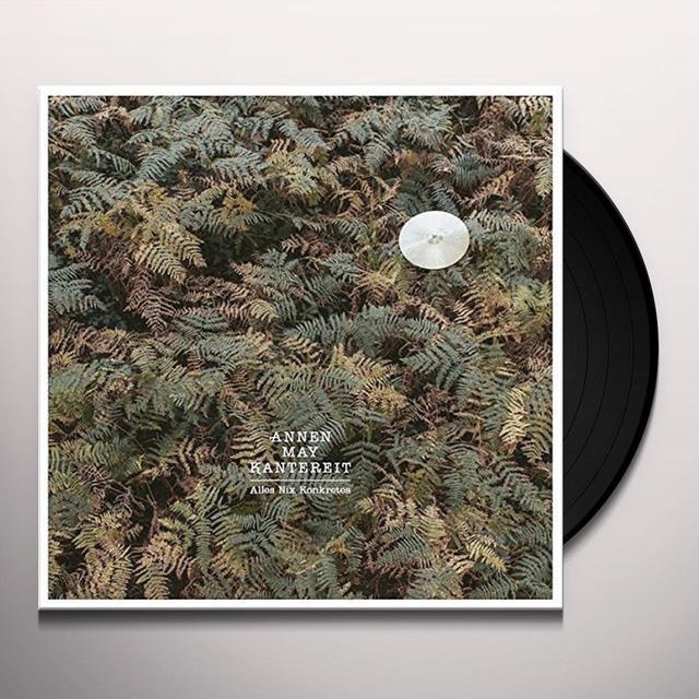 AnnenMayKantereit ALLES NIX KONKRETES (GER) Vinyl Record