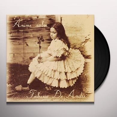 Fabrizio De André ANIME SALVE Vinyl Record - Italy Import