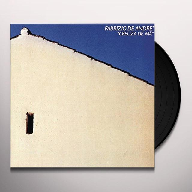 Fabrizio De André CREUZA DE MA Vinyl Record - Italy Import
