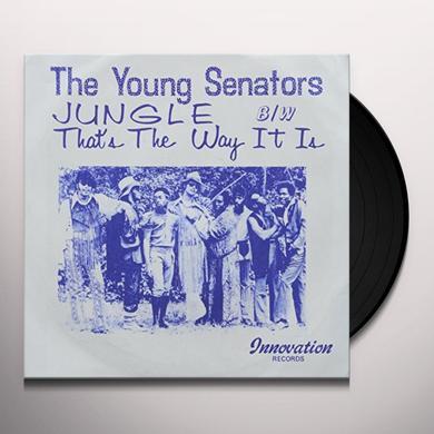 Young Senators JUNGLE B/W THAT'S THE WAY IT IS Vinyl Record - UK Release