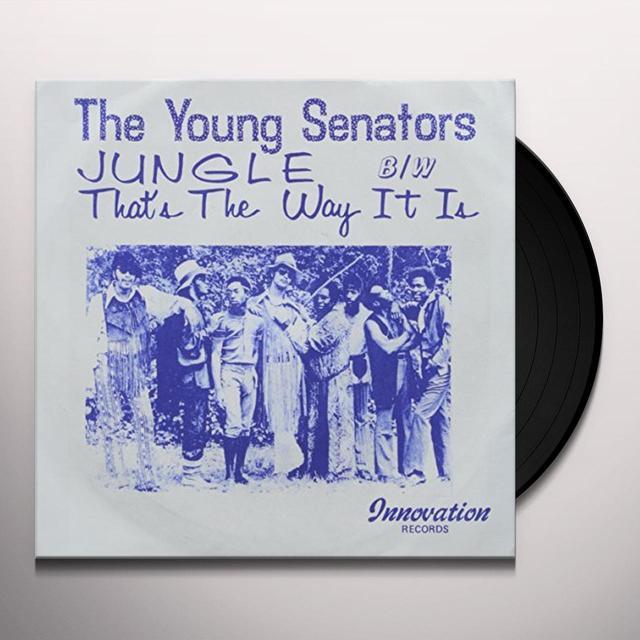 Young Senators JUNGLE B/W THAT'S THE WAY IT IS Vinyl Record - UK Import