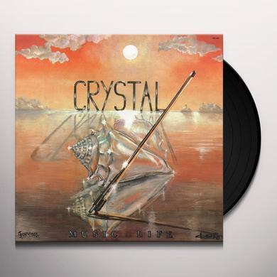 Crystal MUSIC LIFE Vinyl Record