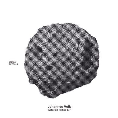 Johannes Volk ASTEROID RIDING Vinyl Record