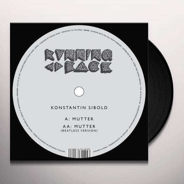 Konstatin Sibold MUTTER Vinyl Record