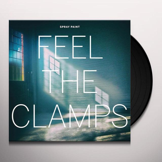 Spray Paint FEEL THE CLAMPS Vinyl Record