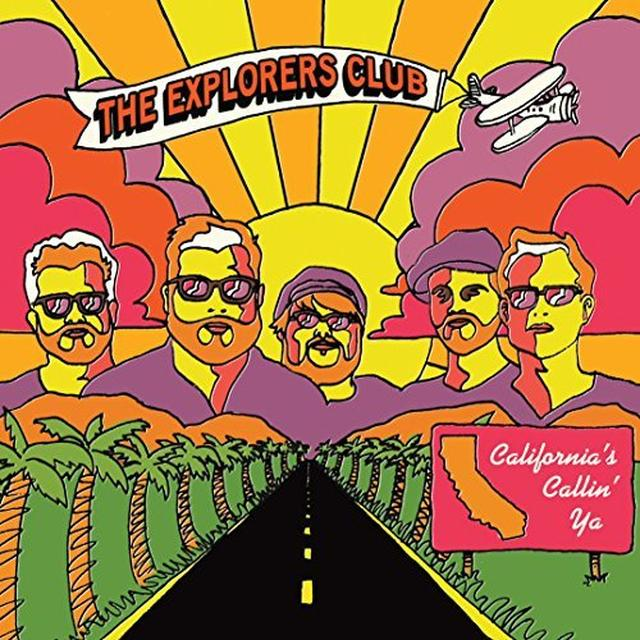 Explorers Club CALIFORNIAS CALLIN YA / NATURE BOY Vinyl Record - Limited Edition