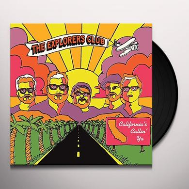 Explorers Club CALIFORNIAS CALLIN YA / NATURE BOY Vinyl Record - Limited Edition