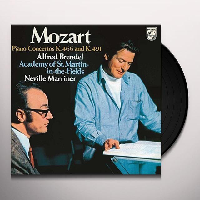 MOZART / BRENDEL / MARRINER / ACADEMY OF ST MARTIN PIANO CONCERTOS NOS 20 & 24 Vinyl Record - 180 Gram Pressing