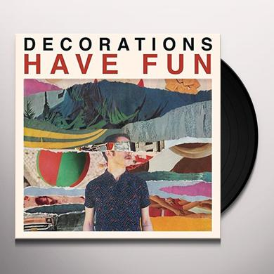 Decorations HAVE FUN Vinyl Record