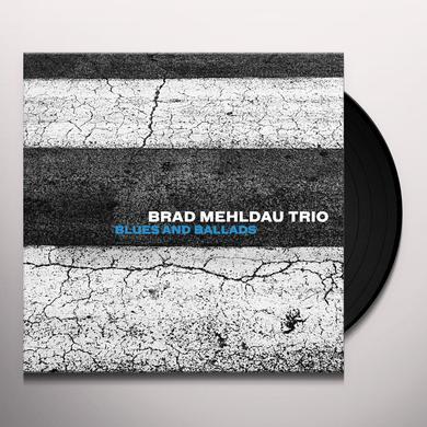Brad Mehldau BLUES & BALLADS Vinyl Record