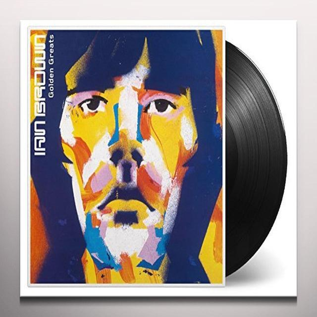 Ian Brown GOLDEN GREATS  (BONUS TRACKS) Vinyl Record - Gold Disc, Gold Disc, Limited Edition