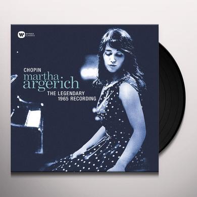 Chopin / Martha Argerich LEGENDARY 1965 RECORDING Vinyl Record