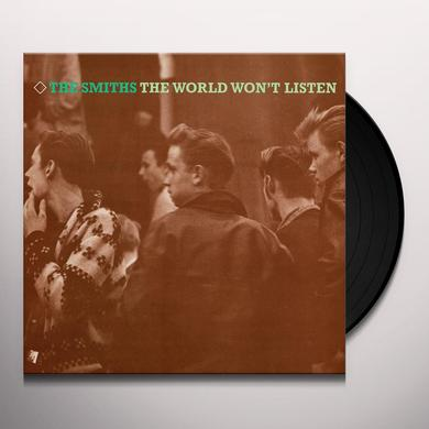 The Smiths WORLD WON'T LISTEN Vinyl Record