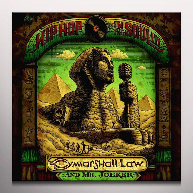 CYMARSHALL LAW / MR. JOEKER HIP HOP IN THE SOUL 3 Vinyl Record - Green Vinyl