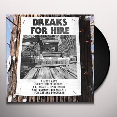 DJ MEKALEK X K-DEF BREAKS FOR HIRE Vinyl Record