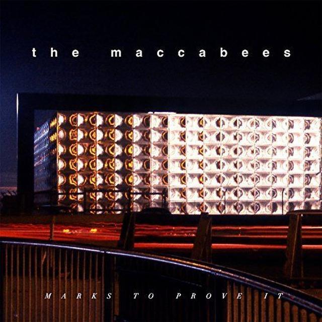 Maccabees MARKS TO PROVE IT(ORANGE VINYL) Vinyl Record - UK Import