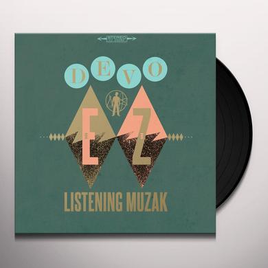 Devo EZ LISTENING MUZAK Vinyl Record - Gatefold Sleeve, Limited Edition