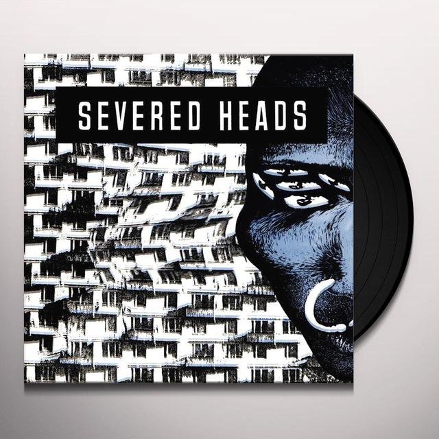 Severed Heads STRETCHER Vinyl Record - Gatefold Sleeve