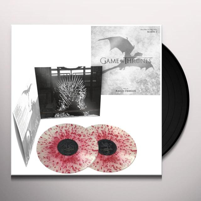 Ramin Djawadi GAME OF THRONES SERIES 3 / O.S.T. Vinyl Record - Gatefold Sleeve, Limited Edition