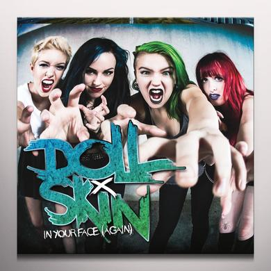 DOLL SKIN IN YOUR FACE (AGAIN) Vinyl Record - Colored Vinyl, Pink Vinyl