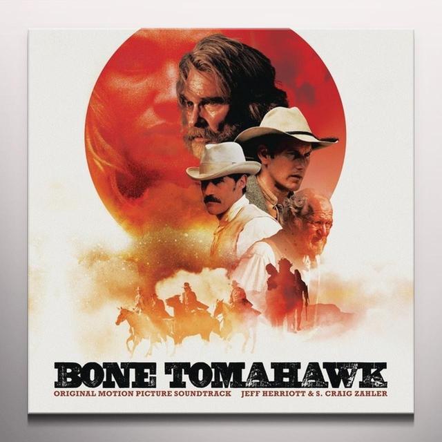 Jeff Herriott / S. Craig Zahler BONE TOMAHAWK / O.S.T. Vinyl Record - Colored Vinyl, Digital Download Included