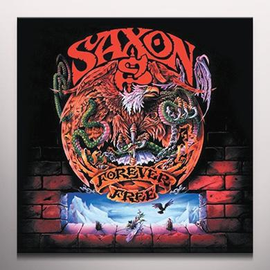 Saxon FOREVER FREE Vinyl Record - Colored Vinyl, UK Import