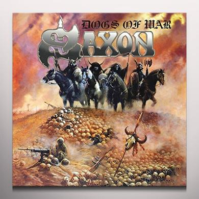 Saxon DOGS OF WAR Vinyl Record - Colored Vinyl, UK Import