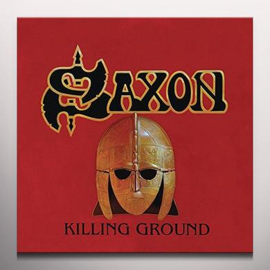 Saxon KILLING GROUND Vinyl Record - Colored Vinyl, UK Import