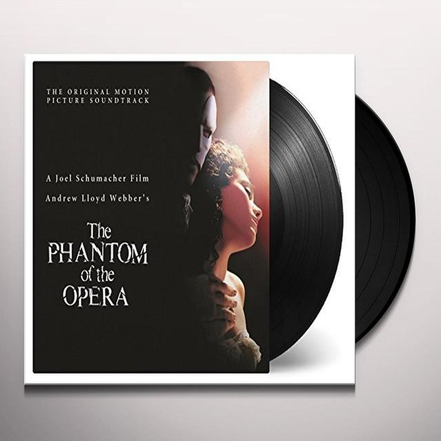Andrew Lloyd Webber PHANTOM OF THE OPERA (2004) / O.S.T. Vinyl Record - Holland Import
