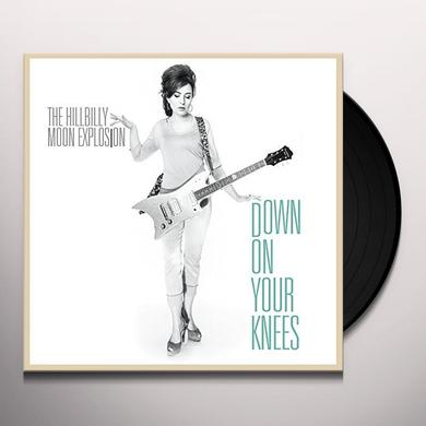 The Hillbilly Moon Explosion DOWN ON YOUR KNEES Vinyl Record