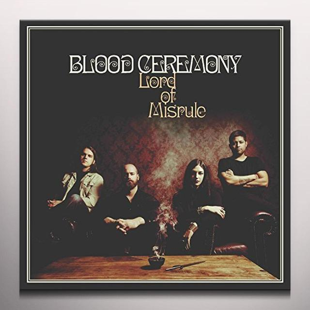 Blood Ceremony LORD OF MISRULE (RED VINYL) Vinyl Record - Colored Vinyl, Red Vinyl, UK Import