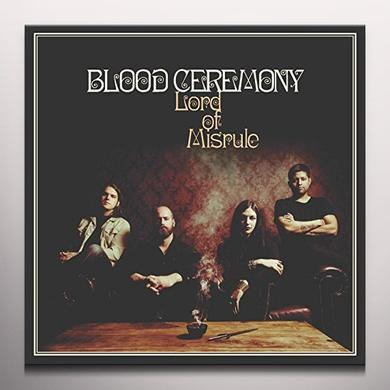 Blood Ceremony LORD OF MISRULE (RED VINYL) Vinyl Record - Colored Vinyl, Red Vinyl, UK Import