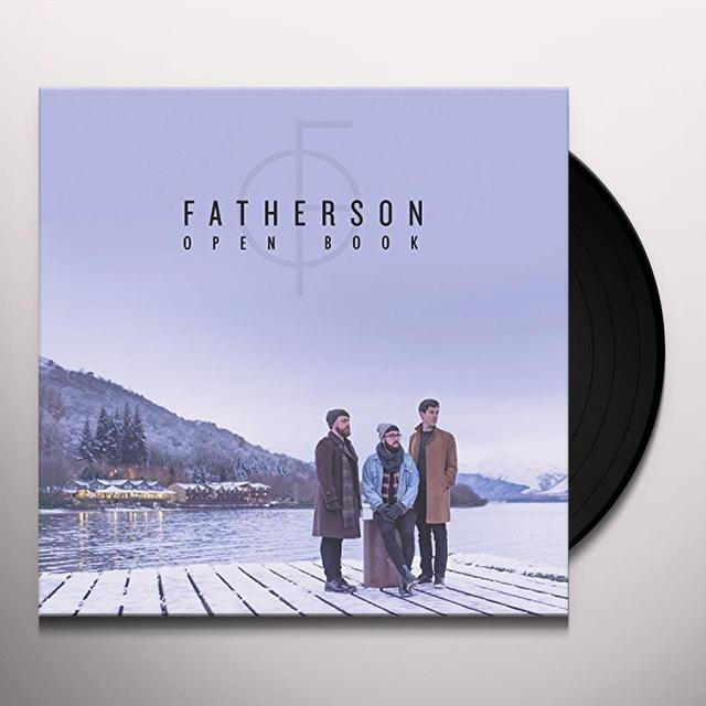 Fatherson OPEN BOOK Vinyl Record - UK Import