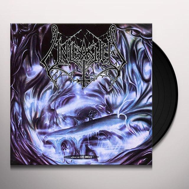 Unleashed WHERE NO LIFE DWELLS Vinyl Record - UK Import