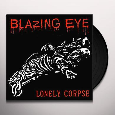 BLAZING EYE BRAIN / LONELY CORPSE Vinyl Record