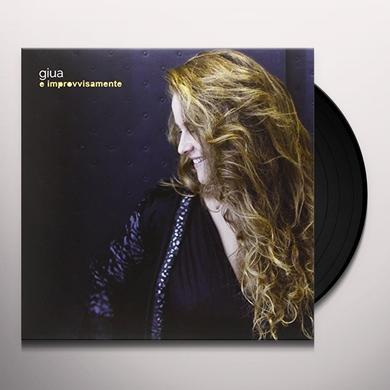GIUA E IMPROVVISAMENTE Vinyl Record
