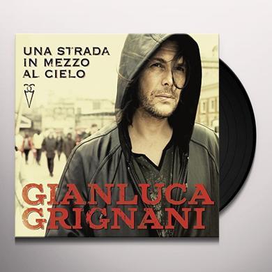 Gianluca Grignani UNA STRADA IN MEZZO AL CIELO Vinyl Record - Italy Import